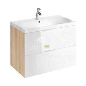 Cersanit LAREDO szafka 80 cm pod umywalkę AMAO