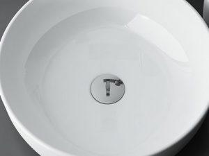 Koło umywalka łazienkowa