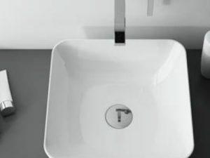 Koło umywalka z szafką