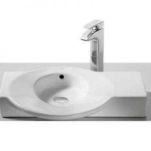 asymetryczna umywalka