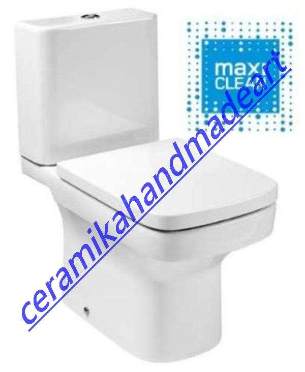 miska wc bez kolnierza Roca
